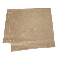 Törölköző 70x130 bordűrös drapp