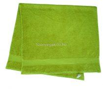 Törölköző 50x90 cm bordűrös kiwi zöld