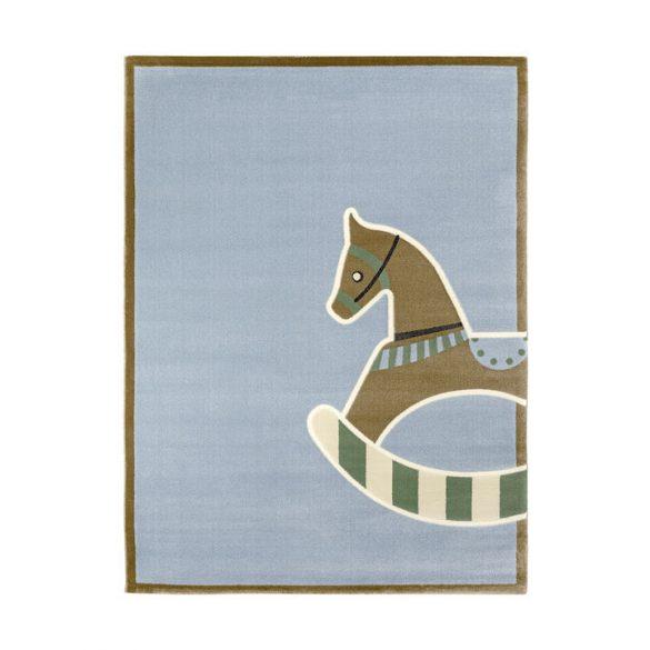 SC Kék Hintalovas szőnyeg 115x175 cm