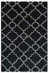 Trend 7410 fekete-fehér arab mintás szőnyeg 160x230 cm