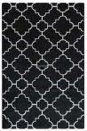 Trend 7410 fekete-fehér arab mintás szőnyeg  80x150 cm