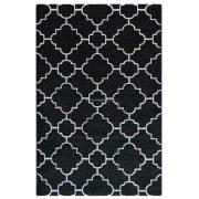 Trend 7410 fekete-fehér arab mintás szőnyeg 200x290 cm