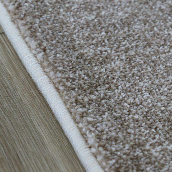Trend 7423 bézs vonalkás-kockás szőnyeg 120x170 cm