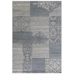 Trend 7425 szürke csipke mintás szőnyeg 200x290 cm