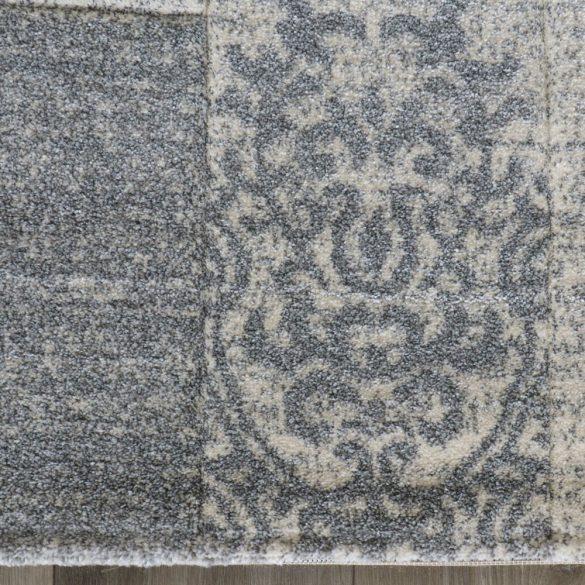 Trend 7425 szürke csipke mintás szőnyeg  80x150 cm