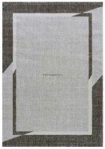 Trend 7430 bézs-barna keretes szőnyeg  80x150 cm