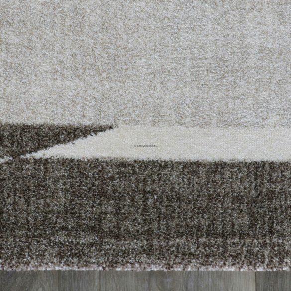 Trend 7430 bézs-barna keretes szőnyeg 160x230 cm