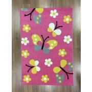 Trendy Kids Pink pillangós D237A szőnyeg 120x170 cm