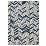 Tuana 7612 bézs-szürke parketta mintás szőnyeg 120x170 cm