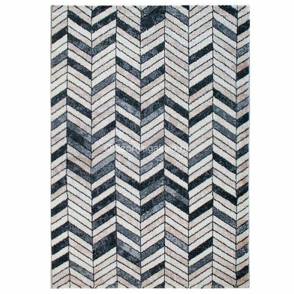 Tuana 7612 bézs-szürke parketta mintás szőnyeg 200x290 cm