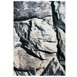 Tuana 7615 bézs-szürke szikla mintás szőnyeg 160x230 cm