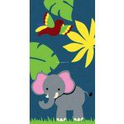 Trendy Kids Kék dzsungel állatai D231A gyerekszőnyeg  80x150 cm