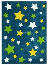 Trendy Kids Kék csillagos D234A szőnyeg 200x280 cm