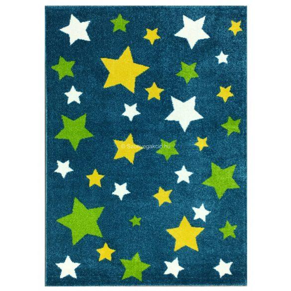 Trendy Kids Kék csillagos D234A szőnyeg 120x170 cm