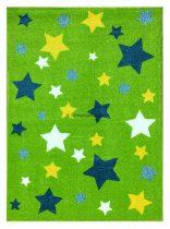 Trendy Kids Zöld csillagos D234A szőnyeg 200x280 cm