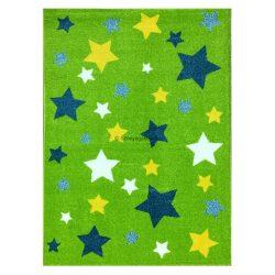 Trendy Kids Zöld csillagos D234A szőnyeg 160x230 cm