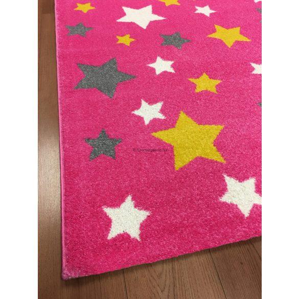 Trendy Kids Pink csillagos D234A szőnyeg 120x170 cm