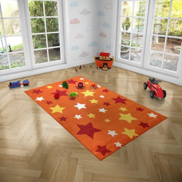 Trendy Kids Narancs csillagos D234A szőnyeg 120x170 cm