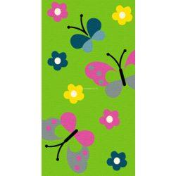 Trendy Kids Zöld pillangós D237A szőnyeg  80x150 cm