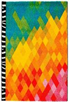Waikiki 388 multicolor szőnyeg 80x150 cm
