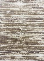 Zara 8488 barna-bézs csíkos szőnyeg 120x180 cm
