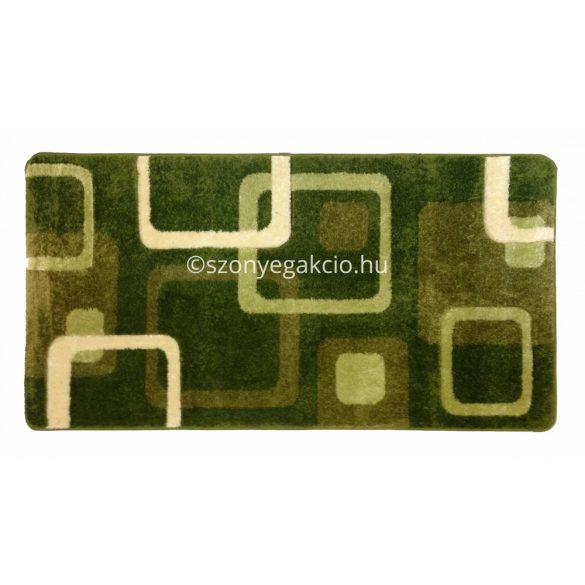 Zöld kockás szőnyeg  60x110 cm