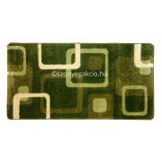 Zöld kockás szőnyeg  80x150 cm