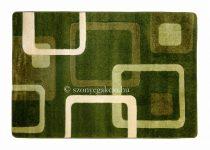 Zöld kockás szőnyeg 120x170 cm