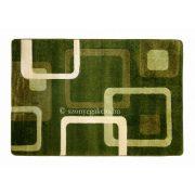 Zöld kockás szőnyeg 160x220 cm