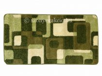 Zöld kockás2 szőnyeg 120x170 cm