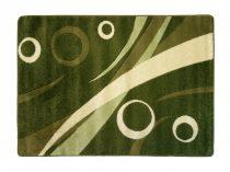 Zöld körös2 szőnyeg  60x220 cm