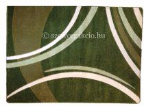 Zöld vonalas szőnyeg 160x220 cm